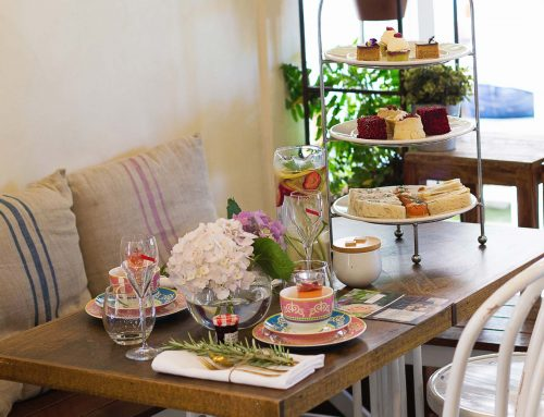 HIGH TEA COMES TO THE CAFE